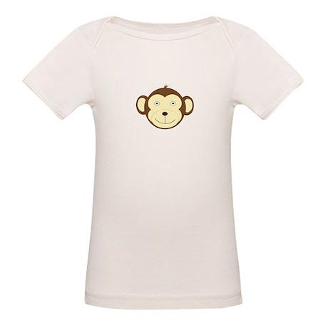 Monkey Organic Baby T-Shirt