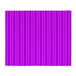 Purple and Pink Stripes Pattern Throw Blanket