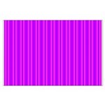 Purple and Pink Stripes Pattern Large Poster