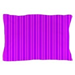 Purple and Pink Stripes Pattern Pillow Case