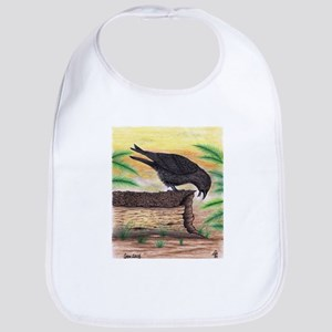 The Curious Crow Original Drawing Bib