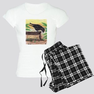 The Curious Crow Original Drawing Women's Light Pa