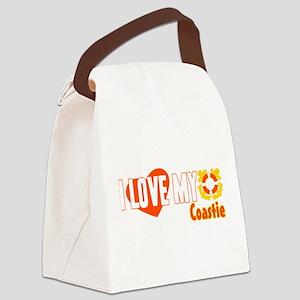 Love My Coastie! Canvas Lunch Bag
