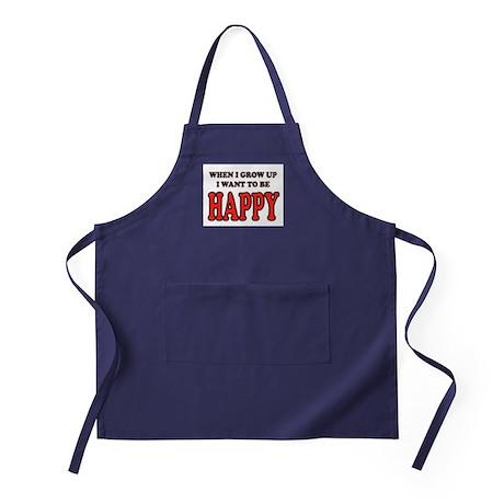 HAPPY Apron (dark)
