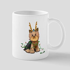 Christmas Yorkie Mug