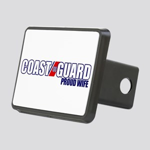 USCG Wife Rectangular Hitch Cover