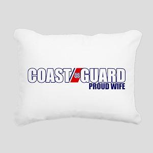 USCG Wife Rectangular Canvas Pillow