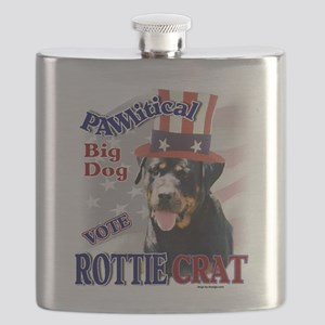 ROTTIEcrat Flask