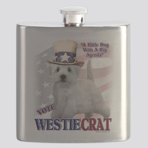 WESTIEcrat Flask