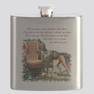 Boerboel Art Gifts Flask