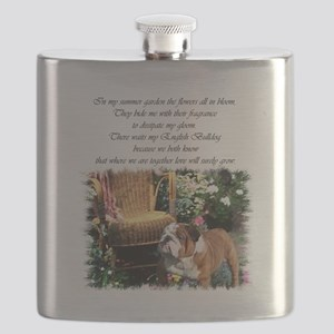bulldog garden 2 Flask