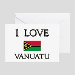 I Love Vanuatu Greeting Cards (Pk of 10)