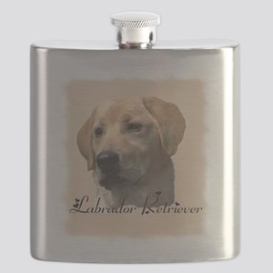 lab yellow square Flask