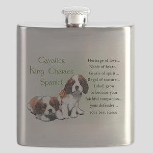 Cavalier King Charles Flask