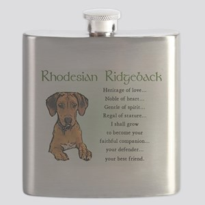 Rhodesian Ridgeback Flask
