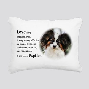 Papillon Gifts Rectangular Canvas Pillow