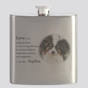 Papillon Gifts Flask