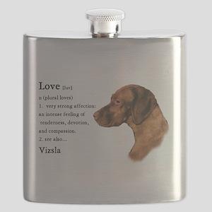 Vizsla Love Is Flask