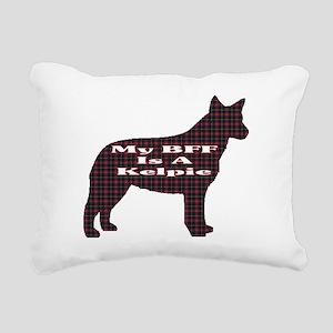 BFF Australian Kelpie Rectangular Canvas Pillow