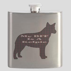 BFF Australian Kelpie Flask