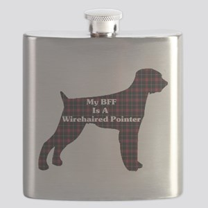 BFF Wirehaired Pointer Flask