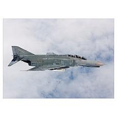 Lufwaffe F-4F Phantom of Jagdgeschwader 71 Richtho Poster