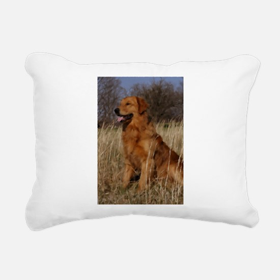 Field of Gold Rectangular Canvas Pillow