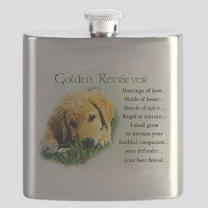 golden retriever puppy Flask