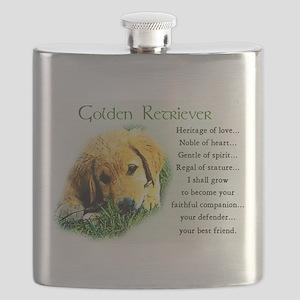 golden retriever puppy Flask