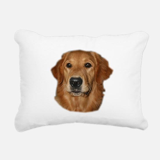 golden head study Rectangular Canvas Pillow