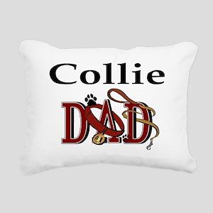 Collie ADJ Rectangular Canvas Pillow