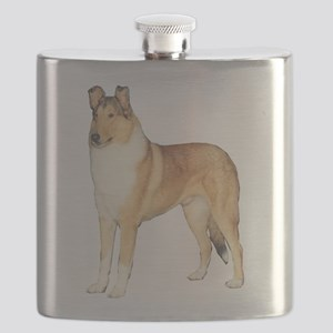 Smooth Collie Gifts Flask