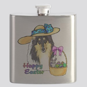 Easter Collie Flask