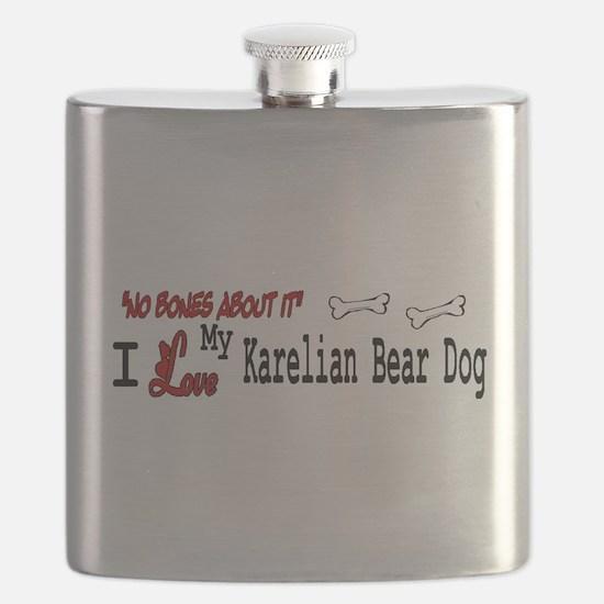 NB_Karelian Bear Dog Flask