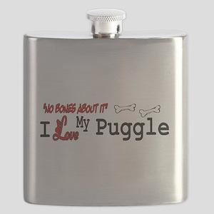 Puggle Gifts Flask