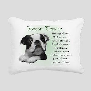 boston heritage Rectangular Canvas Pillow