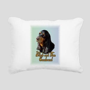 Coonhound_1 Rectangular Canvas Pillow