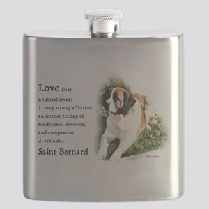 Saint Bernard Gifts Flask