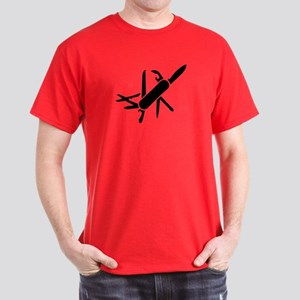 Army knife Dark T-Shirt