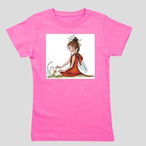 woodland fairy admires a rose T-Shirt