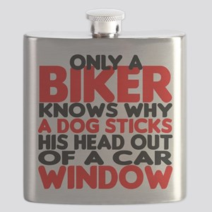 Only a Biker Flask