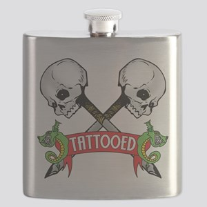 Tattooed Flask