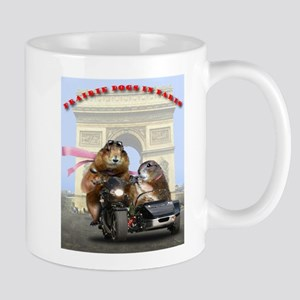 Prairie dogs in paris Mugs