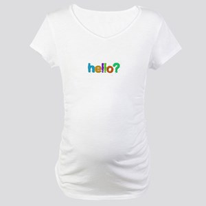 Hello Maternity T-Shirt