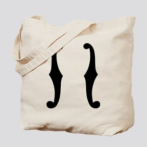 Note f holes Tote Bag
