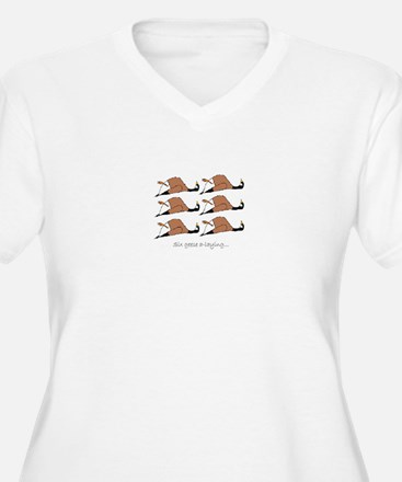 Six geese a-laying... T-Shirt
