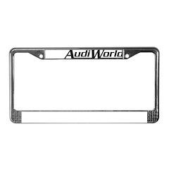 AudiWorld License Plate Frame
