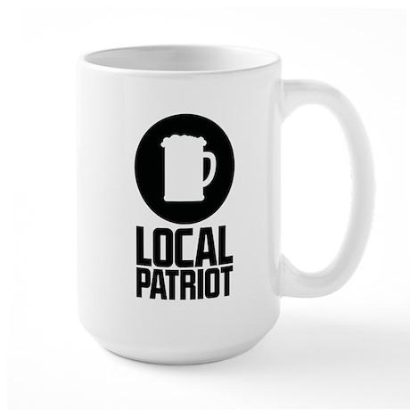 Local Patriot Beer Large Mug