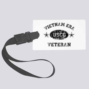 Vietnam Era Vet USCG Large Luggage Tag