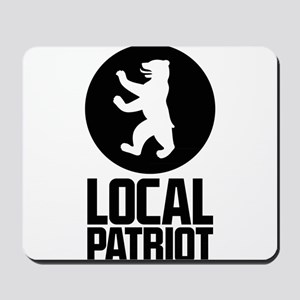 Local Patriot Bear Mousepad